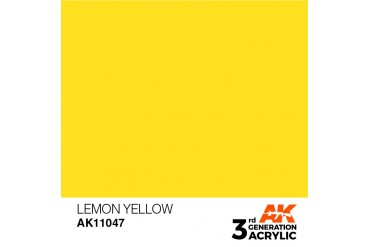047: Lemon Yellow (17ml) - acryl