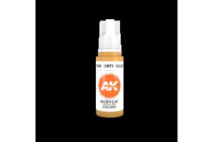 043: Dirty Yellow (17ml) - acryl