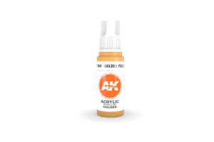 041: Golden Yellow (17ml) - acryl