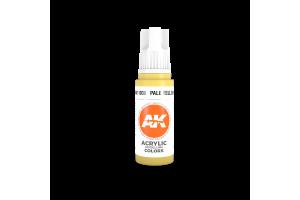 038: Pale Yellow (17ml) - acryl