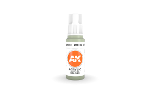 010: Medium Grey (17ml) - acryl