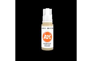 008: Grimy Grey (17ml) - acryl