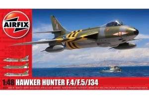 Hawker Hunter F.4/F.5/J.34  (1:48) - A09189