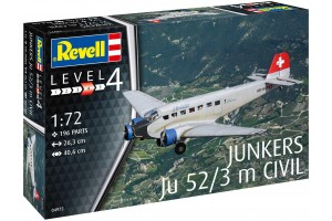 Junkers Ju52/3m Civil (1:72) - 04975
