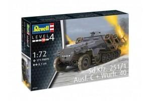 Sd.Kfz. 251/1 Ausf. C + Wurfr. 40 (1:72) - 03324