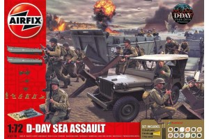 D-Day 75th Anniversary Sea Assault (1:72) - A50156A