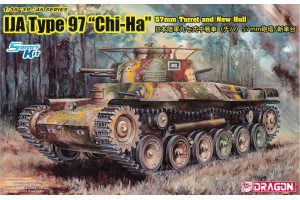 """IJA Type 97 """"Chi-Ha"""" w/57mm Gun and New Hull (1:35) - 6875"""