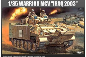 """Model Kit military 13201 - WARRIOR MCV """"IRAQ 2003"""" (1:35)"""