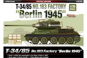 "T-34/85 No.183 Factory ""Berlin 1945"" (1:35) - 13295"