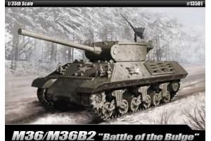 """Model Kit tank 13501 - M36/M36B2 """"Battle of the Bulge"""" (1:35)"""