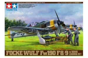 Fw 190F-8/9 w/Bomb Loading Set (1:48) - 61104
