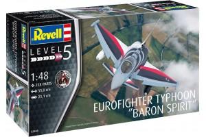 """Plastic ModelKit letadlo 03848 - Eurofighter Typhoon """"BARON SPIRIT"""" (1:48)"""