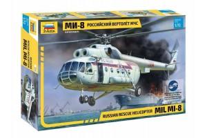 Model Kit vrtulník 7254 - MIL Mi-8 Rescue Helicopter (1:72)