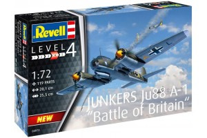 Junkers Ju88 A-1 Battle of Britain (1:72) - 04972