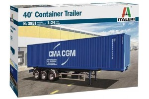 40' Container Trailer (1:24) - 3951