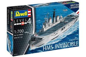 HMS Invincible (Falkland War) (1:700) - 65172