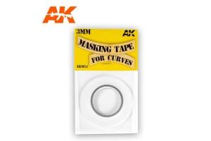 Masking Tape for Curves 3 mm - AK9124