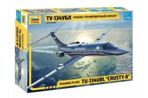 """Training plane TU-134UBL """"CRUSTY-B"""" (1:144) - 7036"""