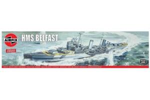 Classic Kit VINTAGE loď A04212V - HMS Belfast (1:600)