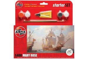 Starter Set loď A55114 - Mary Rose (1:400)