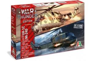 Model Kit vrtulníky War Thunder 35103 - UH-1C & MI-24D (1:72)