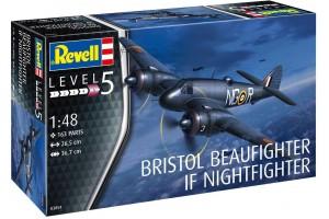 Plastic ModelKit letadlo 03854 - Beaufighter IF Nightfighter (1:48)