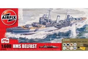 Gift Set loď A50069 - HMS Belfast (1:600)