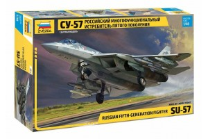 Model Kit letadlo 4824 - Suchoi SU-57 (1:48)