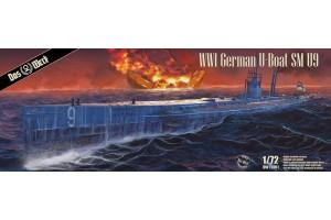 U-Boat SM U-9 (1:72) - 72001