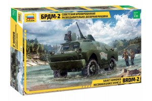 Model Kit military 3638 - BRDM-2 Russian Armored Car (1:35)
