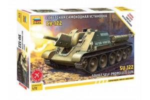 Model Kit tank 5043 - SU-122 Soviet Tank Destroyer (1:72)