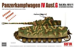 Panzer IV Ausf.G w/ workable track links (1:35) - 5053