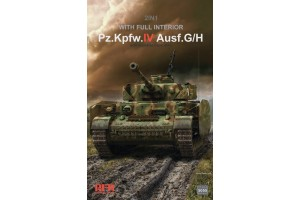 Panzer IV Ausf.G/ H 2in1 with full interior (1:35) - 5055