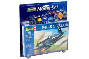 ModelSet letadlo 64143 - F4U-5 Corsair (1:72)
