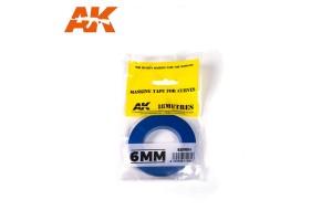 Maskovací páska na oblouky (Masking Tap For Curves) 6mm - 9184