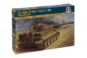 Pz.Kpfw.VI TIGER I Ausf.E mid production (1:35) - 6507