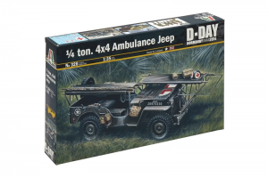1/4 TON. 4x4 AMBULANCE JEEP (1:35) - 0326