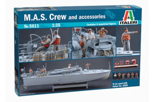 M.A.S. CREW and ACCESSORIES (1:35) - 5611
