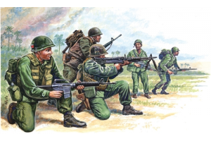 VIETNAM WAR - AMERICAN SPECIAL FORCES (1:72) - 6078