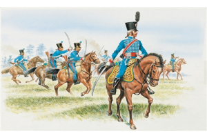 FRENCH HUSSARS (NAPOLEON WARS) (1:72) - 6008