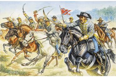 CONFEDERATE CAVALRY (AMERICAN CIVIL WAR) (1:72) - 6011