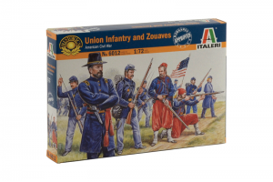 UNION INFANTRY / ZUAVES (AMERICAN CIVIL WAR) (1:72) - 6012