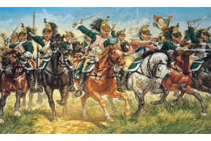 FRENCH DRAGOONS (NAP. WARS) (1:72) - 6015