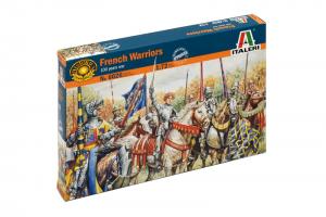 FRENCH WARRIORS (100 YEARS WAR) (1:72) - 6026