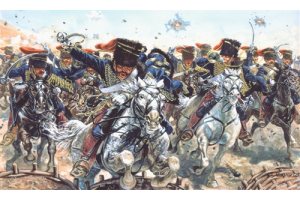 BRITISH HUSSARS (CRIMEAN WAR) (1:72) - 6052
