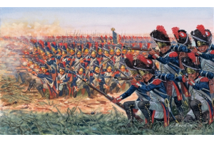 NAPOLEONIC WARS: FRENCH GRENADIERS (1:72) - 6072
