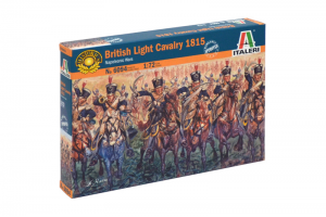 NAPOLEONIC WARS - BRITISH LIGHT CAVALRY 1815 (1:72) - 6094
