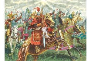 CHINESE CAVALRY (XIIIth CENTURY) (1:72) - 6123