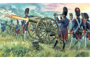 FRENCH IMPERIAL GUARD ARTILLERY (NAP. WARS) (1:72) - 6135