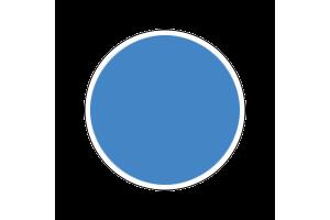 4308AP - Flat Azure Blue 20ml - akryl